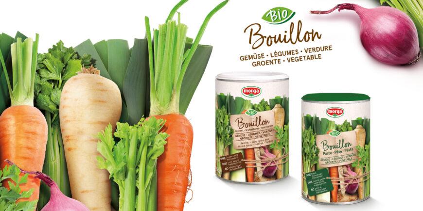 Le nouveau Bio Bouillon sans huile de palme, sans maltodextrine et sans sucre