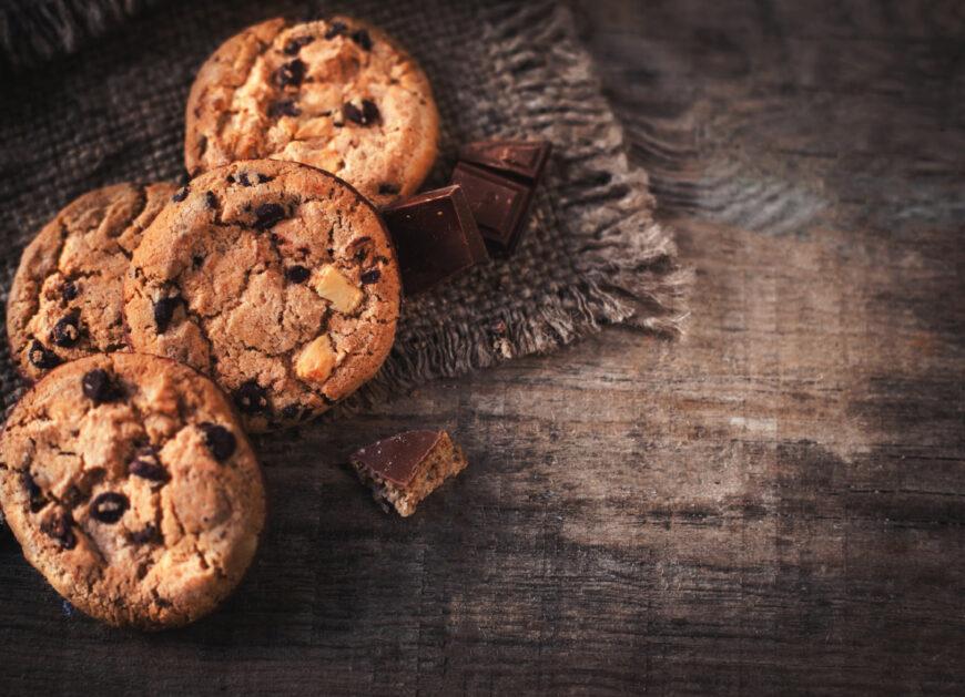 Glutenfreie Cookies aus Hafervollkornmehl