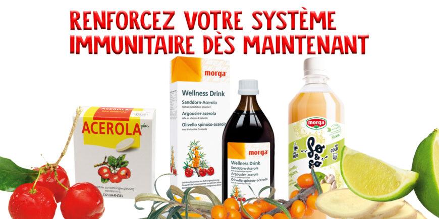 Renforcer le système immunitaire