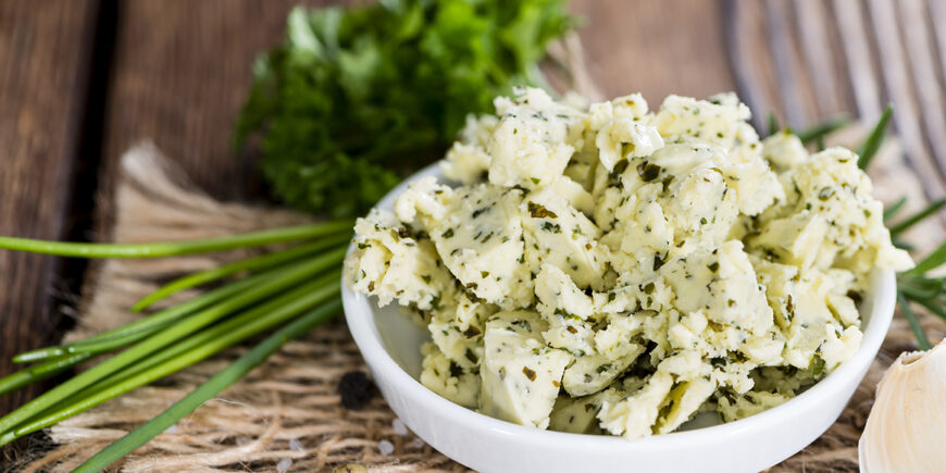 Vegane Kräuter Margarine