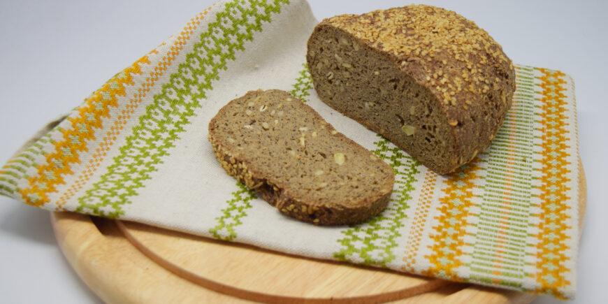 Rezept für veganes und glutenfreies Mehl mit Mandelmehl und Hanfmehl