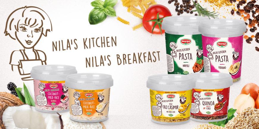 Neue Nila's Kitchen Gerichte