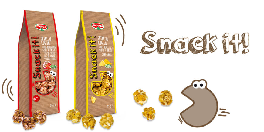 Snack it Getreidekugeln